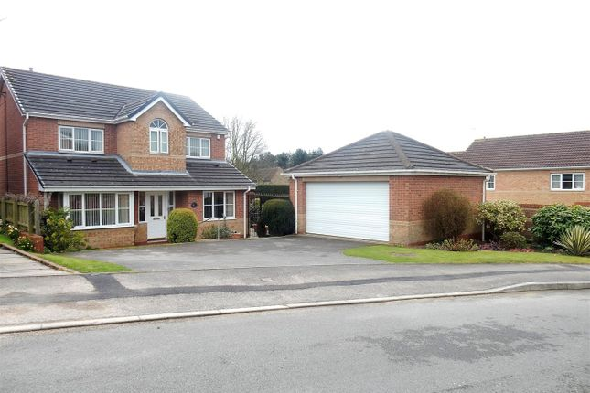 Thumbnail Detached house for sale in Wellesley Close, Worksop