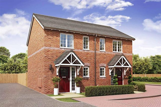 """Thumbnail Terraced house for sale in """"The Anford - Plot 136"""" at Daventry Road, Southam"""