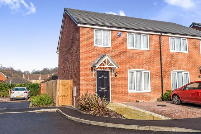 Thumbnail Semi-detached house for sale in Moat Lane, Lower Upnor, Rochester