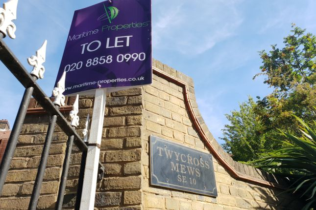 Thumbnail End terrace house to rent in Twycross Mews, Greenwich, London