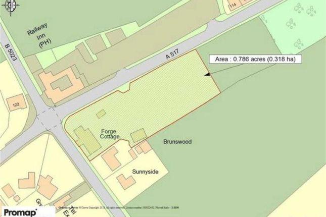 Thumbnail Land for sale in Wirksworth Road, Cowers Lane, Belper
