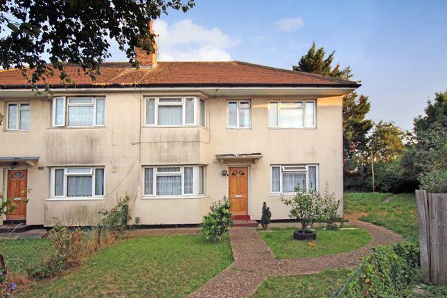 Thumbnail Maisonette to rent in Rostrevor Gardens, Southall