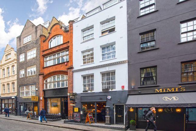 Thumbnail 1 bed flat for sale in Bateman Street, London
