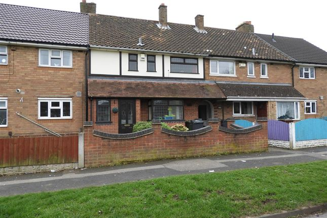 Thumbnail Terraced house for sale in Stephenson Avenue, Beechdale, Walsall