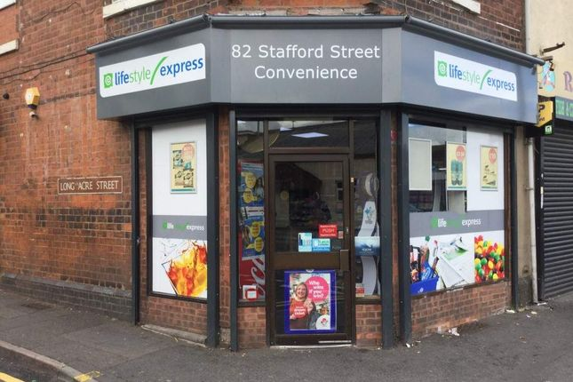 Thumbnail Retail premises for sale in Stafford Street, Walsall
