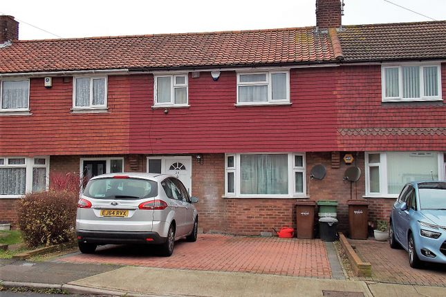 Thumbnail Terraced house for sale in Dorrit Way, Rochester