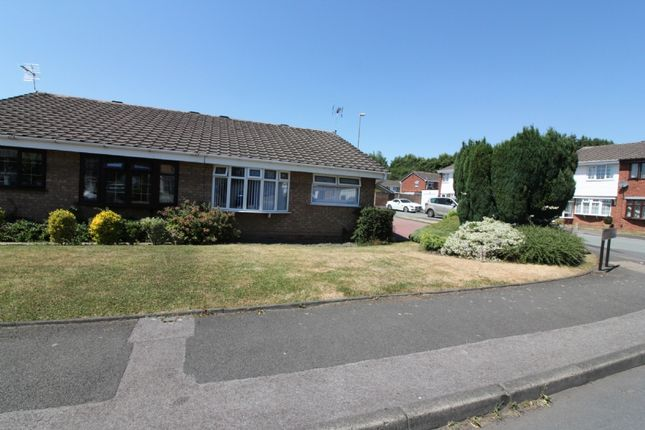 Thumbnail Semi-detached bungalow for sale in Overdale Drive, Walsall
