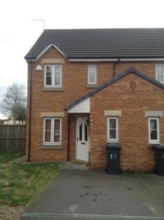 Thumbnail Semi-detached house to rent in Kiwi Drive, Alvaston, Derby