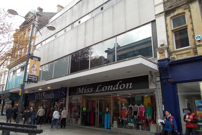 Thumbnail Retail premises to let in 168 Commercial Street, Newport