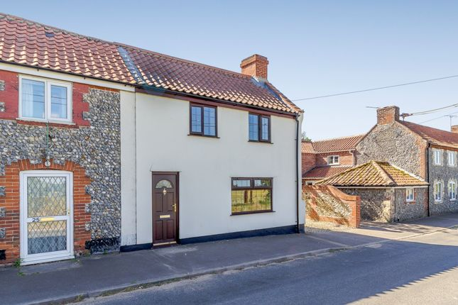 Thumbnail Semi-detached house for sale in West Harling Road, East Harling, Norwich, Norfolk