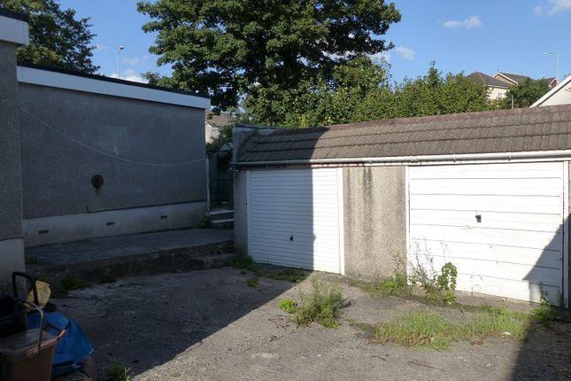 Garage of Oaklands Drive, Bridgend, Bridgend County. CF31