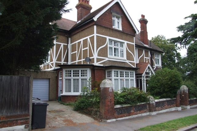 Thumbnail Flat to rent in Pilgrims Way, Croham Road, South Croydon