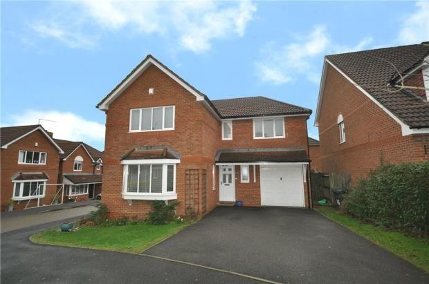 Thumbnail Detached house for sale in Birches Crest, Hatch Warren, Basingstoke