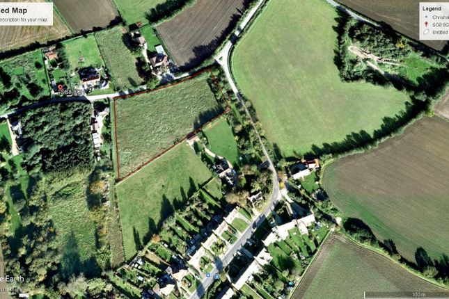 Thumbnail Land for sale in Mill Causeway, Chrishall, Royston