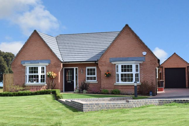 "Thumbnail Bungalow for sale in ""Buckfastleigh"" at Wright Close, Whetstone, Leicester"