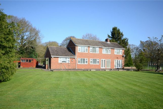 Thumbnail Detached house for sale in Philpot Lane, Chobham, Woking