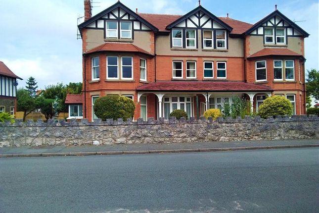 Thumbnail Flat for sale in Llannerch Road East, Rhos On Sea, Colwyn Bay, Conwy