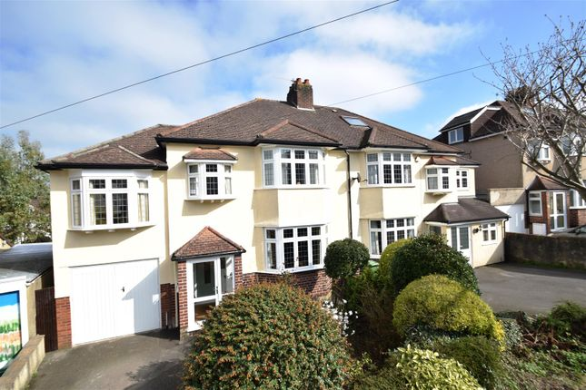 4 bed semi-detached house for sale in Downs Cote Drive, Westbury-On-Trym, Bristol