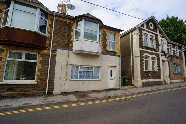 Thumbnail End terrace house for sale in Gladstone Street, Cross Keys, Newport