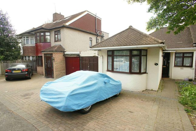 Thumbnail Semi-detached bungalow for sale in Holly Drive, London