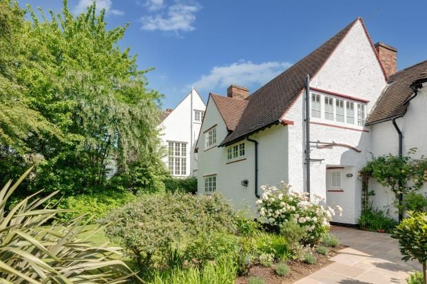 Thumbnail Semi-detached house for sale in Temple Fortune Lane, Hampstead Garden Suburb, London