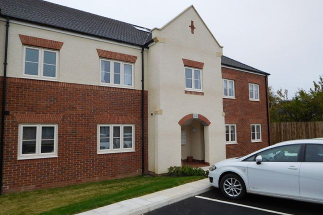 Thumbnail Flat to rent in Trevelyan Close, Earsdon View, Shiremoor.