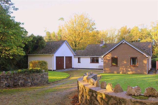 Thumbnail Detached bungalow for sale in Pembroke Road, Manorbier, Tenby