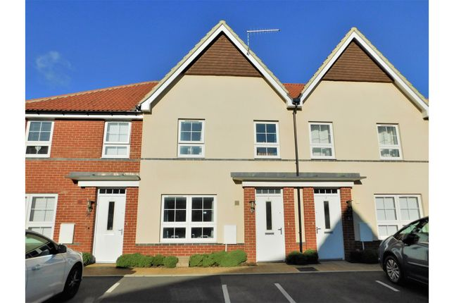 Thumbnail Terraced house for sale in Puttick Drive, Worthing