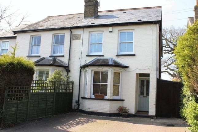 Thumbnail Semi-detached house for sale in Northcroft Road, Englefield Green, Egham