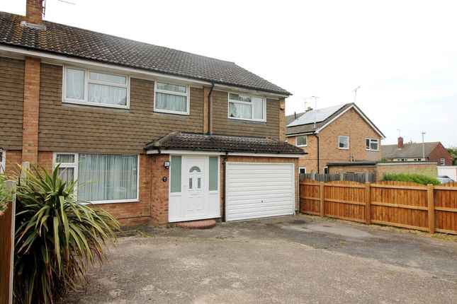 Thumbnail Semi-detached house for sale in Stanfield Close, Stanway, Colchester