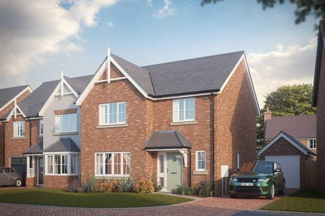 Thumbnail Detached house for sale in Off Shrewsbury Road, Bomere Heath, Shrewsbury