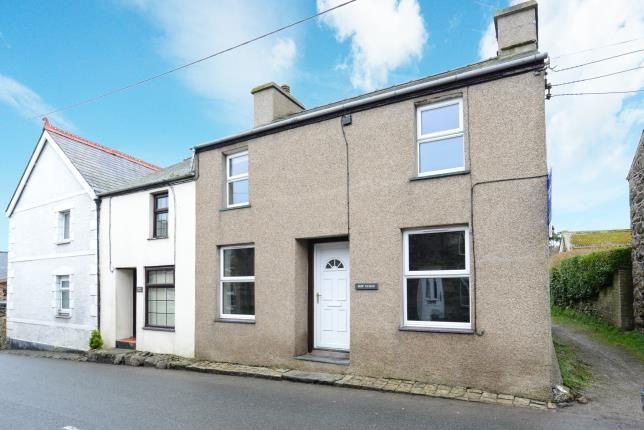 Thumbnail End terrace house for sale in Llanbedrog, Gwynedd