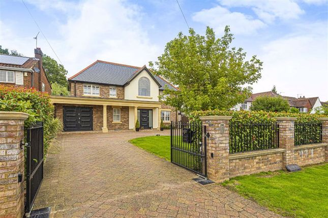 Thumbnail Detached house for sale in Mymms Drive, Brookmans Park, Herts