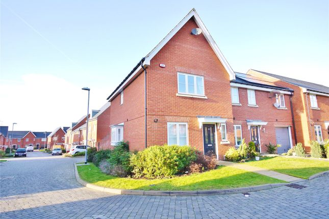 Thumbnail End terrace house for sale in Little Highwood Way, Brentwood, Essex
