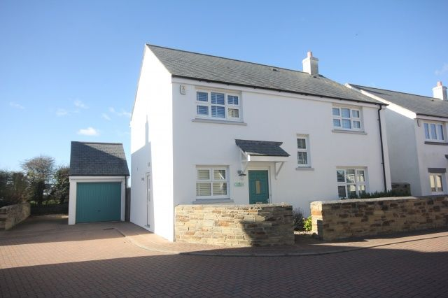 Thumbnail Detached house for sale in Jubilee Close, St. Merryn, Padstow