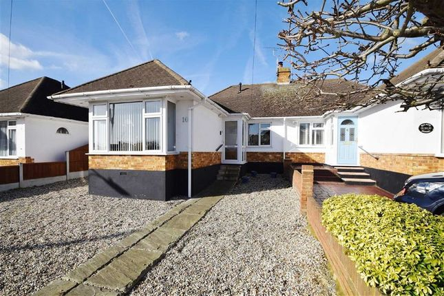Thumbnail Semi-detached bungalow for sale in Berkshire Close, Leigh-On-Sea, Essex