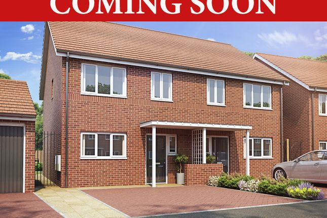 Thumbnail Semi-detached house for sale in Coming Soon, Perry Common, Birmingham