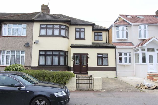 Thumbnail End terrace house for sale in Westrow Drive, Barking, Essex