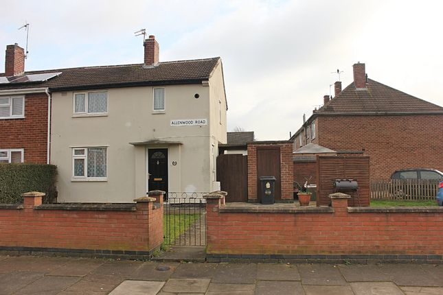 2 bed end terrace house to rent in Allenwood Road, Leicester