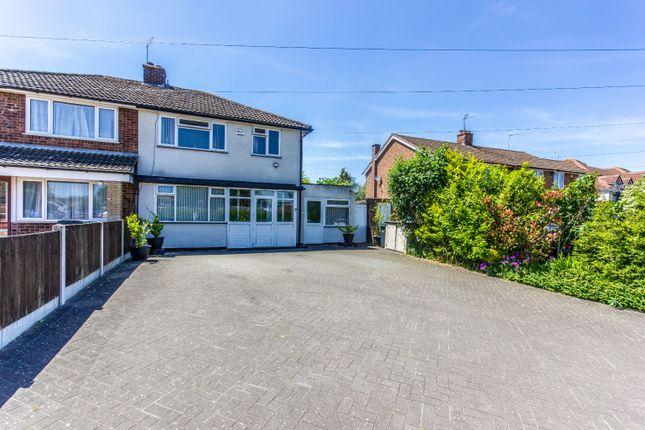Thumbnail Semi-detached house for sale in Carters Lane, Halesowen