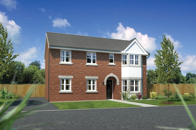 """Thumbnail Detached house for sale in """"Hollandswood"""" at Moorfields, Willaston, Nantwich"""