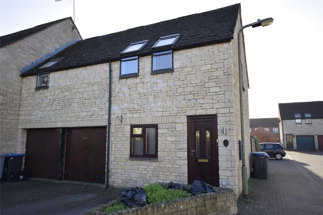 Thumbnail End terrace house to rent in Campden Close, Witney, Oxfordshire