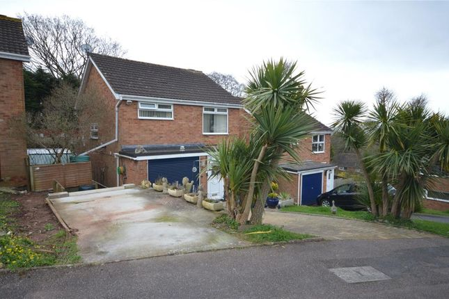 Thumbnail Detached house for sale in Bligh Close, Teignmouth, Devon