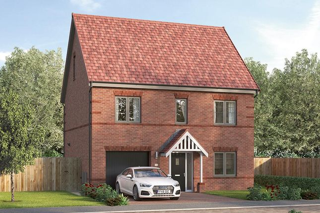 "Thumbnail Detached house for sale in ""The Prestbury"" at Pennyfine Road, Sunniside, Newcastle Upon Tyne"
