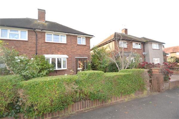 2 bed semi-detached house for sale in Grovestile Waye, Bedfont, Feltham