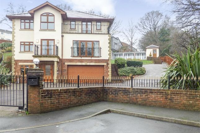 Thumbnail Detached house for sale in Brecon Walk, Treharris, Mid Glamorgan