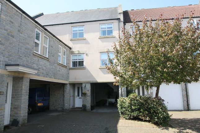 Thumbnail Town house for sale in St. Andrews Mews, Wells