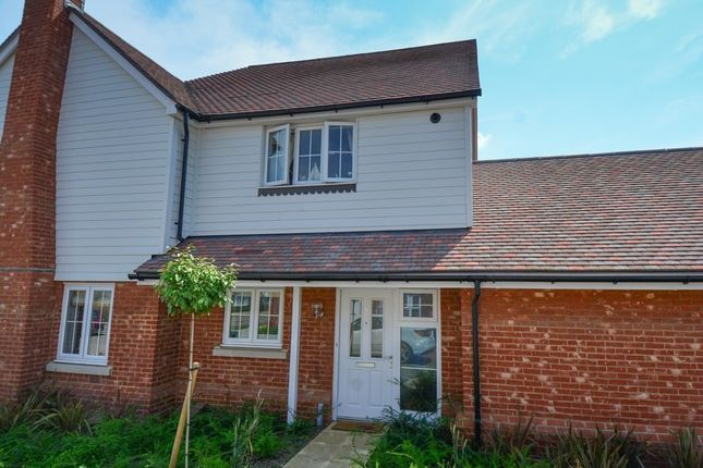 Thumbnail Semi-detached house to rent in Lancer Drive, Kings Hill, West Malling