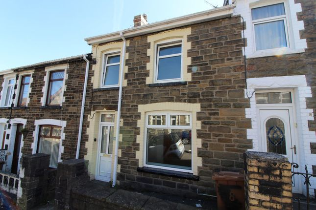 Thumbnail Terraced house to rent in Mcdonnell Road, Bargoed