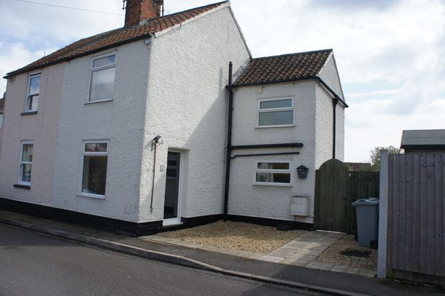 Thumbnail Semi-detached house to rent in Bedehouse Bank, Bourne, Peterborough
